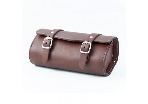 Bolsa de piel marrón SB-05 de Gyes