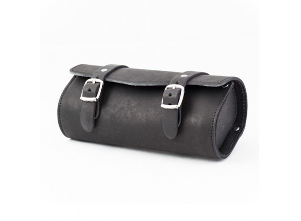 Black leather bag SB-05 by Gyes
