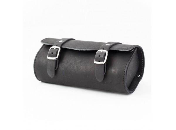 Bolsa de piel negra SB-05 de Gyes