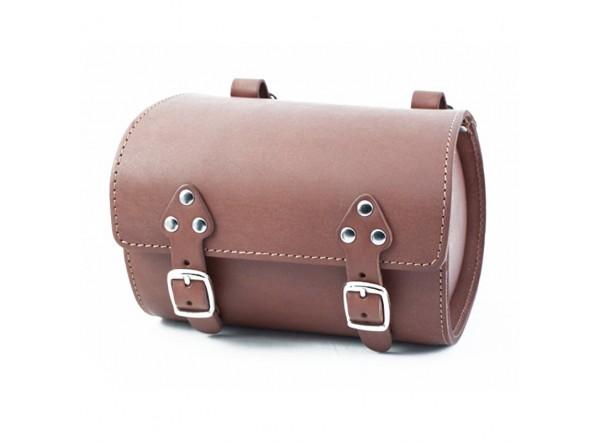 Bolsa de piel marrón SB-07 de Gyes