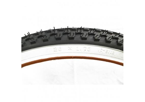 Neumático banda blanca 26x1,75