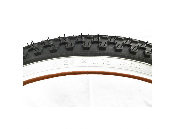Tire with white edge 26x1,75 (45-559)