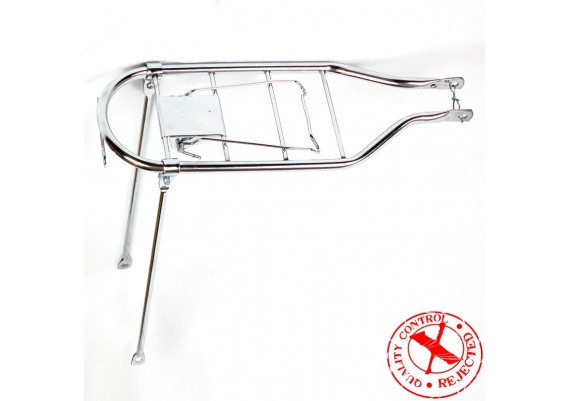 "Chromed rear carrier for 28"" wheel"