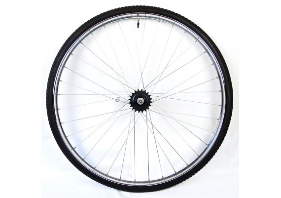 "Wheel -rear- 28x1,1/2"" (700B) with coaster brake"