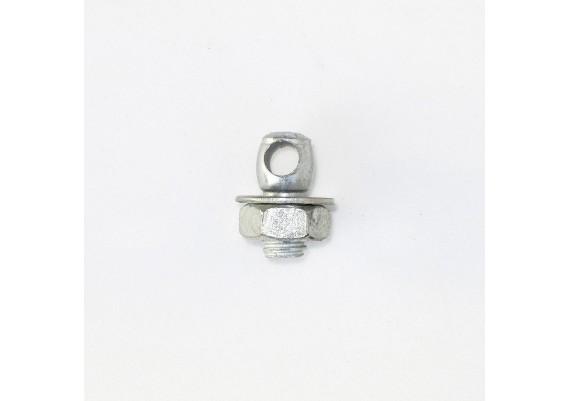 Locking rod screw short