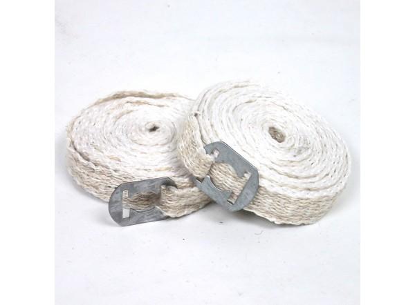 Fondo de llanta de algodón