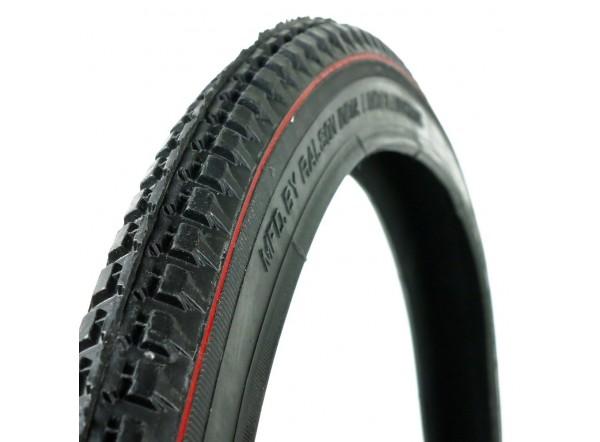 """Neumático negro con línea roja 28x1,1/2"""""""