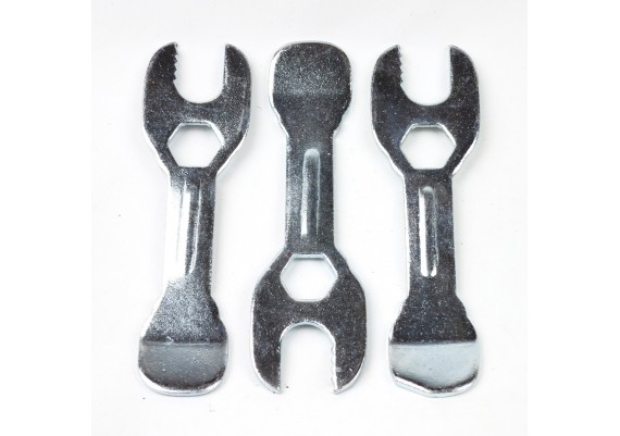 Desmontables (3 uds.) vintage de acero