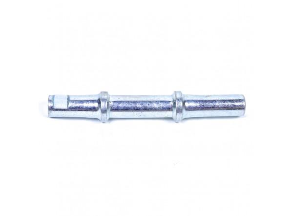 Cottered bottom bracket axle 137 mm (2C)