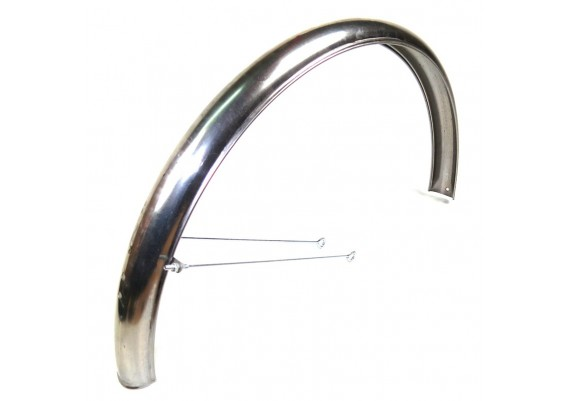 "Rear mudguard 26"" unpainted (2 rods)"