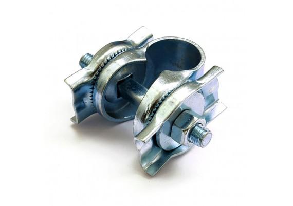 Double rail galvanized clamp