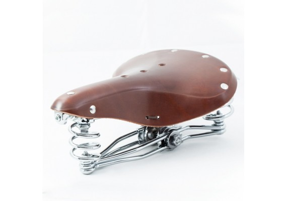 Brown leather saddle SL-10S by Gyes