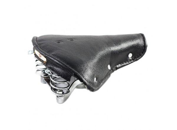 Black skay saddle with springs