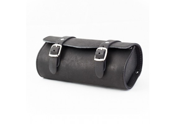Black leather tool bag SB-05 by Gyes