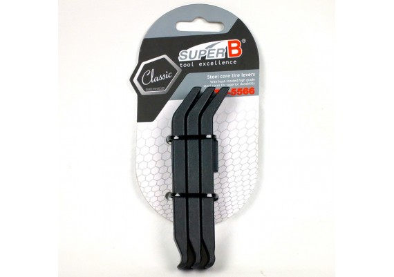 Nylon with steel core tire levers (3 pcs.)
