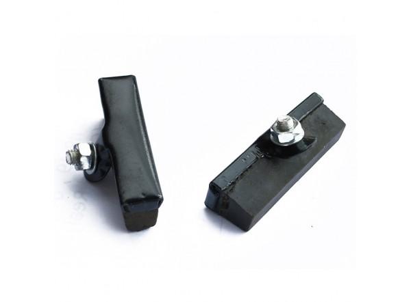 Zapatas frenos varilla (2 uds.) de 50mm, color negro