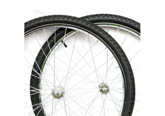 Wheels -front and rear- size 26x1,75 (45-559) for MTB