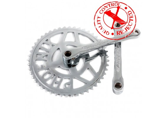 Set of 48 teeth chainring and crank arms Phoenix brand