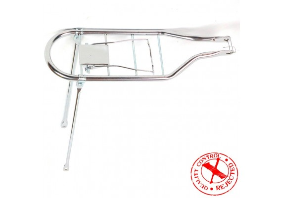 "Chromed rear carrier for 26"" wheel"