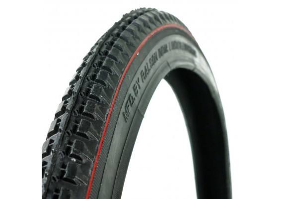 """Black with red line tyre 28x1,1/2"""""""